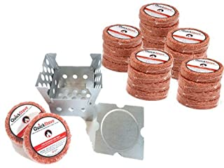 Cube Emergency Survival Cook Stove - Box Camp Cooking Quick Stove with 10 Hour Fuel Disk Supply - Great For Hiking, Camping, Fishing, Hunting, Disaster Preparedness, More. (B00BWSQMLA) | Amazon price tracker / tracking, Amazon price history charts, Amazon price watches, Amazon price drop alerts