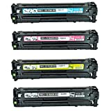 4PK Shopcartridges® Combo set compatible for Canon 131 (6269B001/6270B001/6271B001/6272B001) New Compatible Toner Cartridges Colour Combo Set, (High Yield) for Canon ImageClass LBP7110Cw,Canon ImageClass MF8280Cw