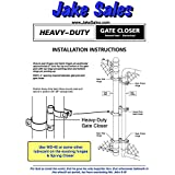 """Chain Link Gate Spring Closer for 2-3/8"""" OD Gate"""