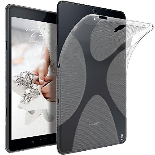 Samsung Galaxy Tab S3 Hülle, LK Ultra Schlank Dünn TPU Gel Gummi Weiche Haut Silikon Anti-Kratzer Schutzhülle Abdeckung Case Cover für Samsung Galaxy Tab S3 (Transparent)