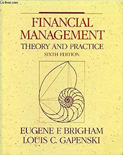 Amazon financial management theory and practice 9780030326721 financial management theory and practice 6th edition fandeluxe Gallery