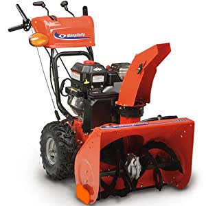 B00919QE6K_Simplicity 1696235 Gas M1227E 27 inch (205cc) Two Stage Snow Blower