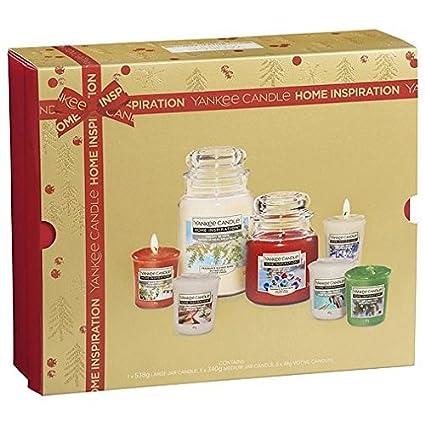 Yankee Candle Mega Bundle 7 Piece Christmas Gift Set Amazoncouk
