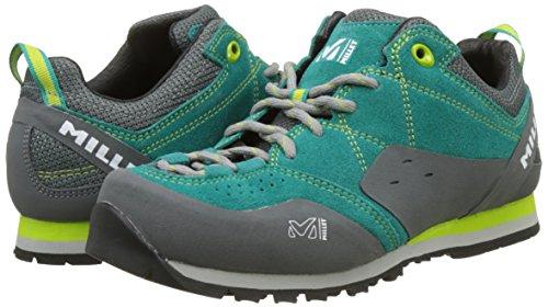 Verde dynasty Zapatos Para Ld Millet 7658 Escalada asphalte Green Mujer De Rockway 7w8qqE0