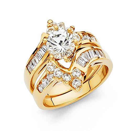 14k Solid Jewelry Set - 4