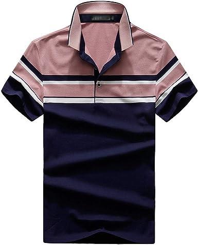 Los Polos De Las Camisas con Estilo CláSico De Las Rayas De ...