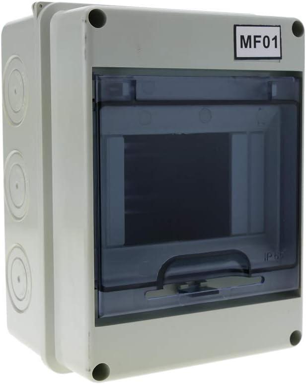BeMatik - Caja de distribución eléctrica SPN 5M IP65 de Superficie ...