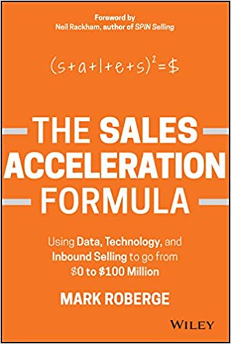 the sales acceleration formula using data technology and inbound
