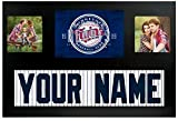 Minnesota Twins MLB Custom Jersey Nameplate and Logo Picture Frame