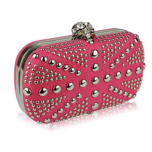 TrendStar - Cartera de mano para mujer rosa - rosa