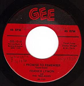 Frankie Lymon - I Promise To Remember/Who Can Explain (VG