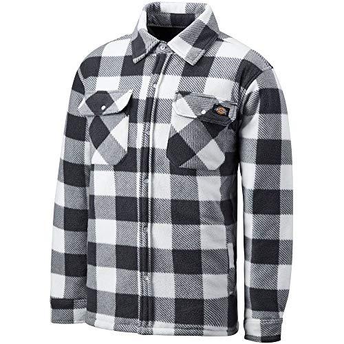 Dickies Herren Thermohemd Portland, Holzfällerhemd, Karo Muster