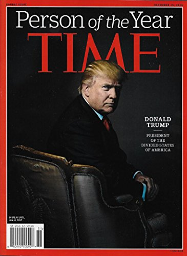 Time Magazine (December 19, 2016) Donald Trump Person of the Year
