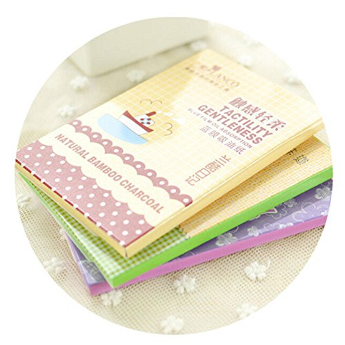 1 Pack Powerful Makeup Facial Oil Control Tissue Oil Absorbing Blotting Paper ONIC