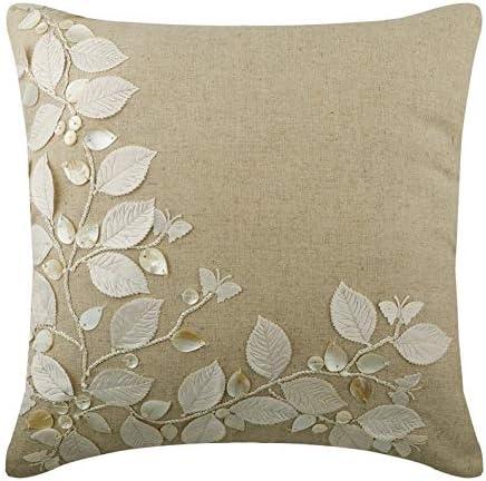 Linen Beauty - Decorativa Funda de Cojin 60 x 60 cm, Square ...