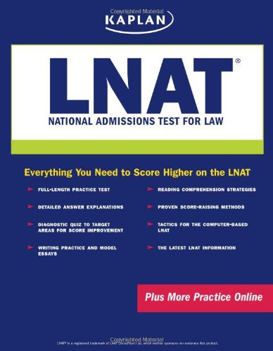 Kaplan LNAT: National Admissions Test for Law