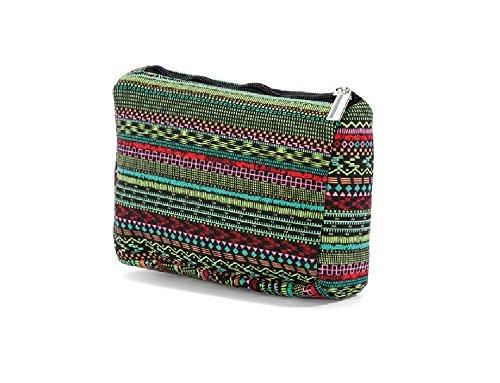 Ladies Girls Mens Travel Makeup Case Zipper Cosmetic Toiletry Holder Pattern 3