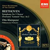 Beethoven: Symphony No. 3 / Leonore Overtures Nos. 1 & 2 by Klemperer, Otto (2002) Audio CD
