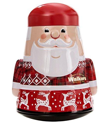Walkers Shortbread Santa Claus Tin, 7.0 Ounce (Tin Christmas Santa)
