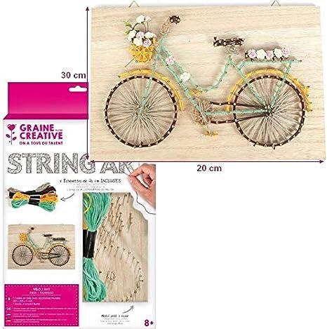 PW-SOL - Kit de Cuadro String Art para Bicicleta Rectangular en ...