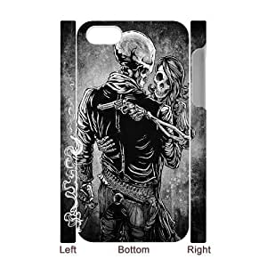 3D Skull Design iPhone 4/4s Case White Yearinspace110753