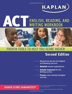 Kaplan ACT English Reading And Writing Workbook Test Prep