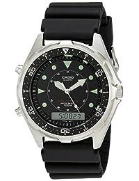 Casio Men's AMW320R-1EV Marine Ana-Digi Dive Watch