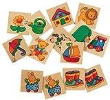 Selecta Primo Wooden Memory Game