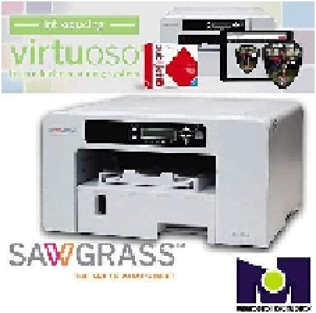 Sawgrass Virtuoso SG400 Complete sublimation Printer bundle Ink and 100 of papers