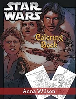 Star Wars Adult Coloring Book: Coloring Your Own Favorite Star ...