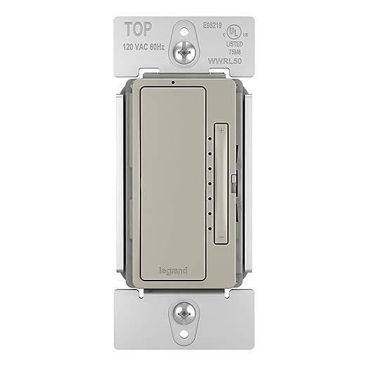 Legrand - Pass & Seymour Radiant Smart WWRL50NI Tru-Universal Wi-Fi Enabled Dimmer, Nickel - - Amazon.com