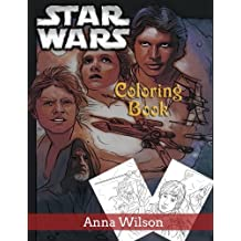 Star Wars Coloring Book: Coloring Good and Evil Characters in Star Wars
