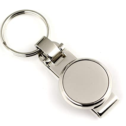 Amazon.com : Occus Round Keychain Waist Hanging Key Chain ...