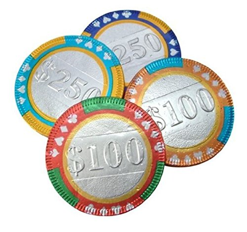 - Bulk Chocolate Poker Chips, 400+ Per Order