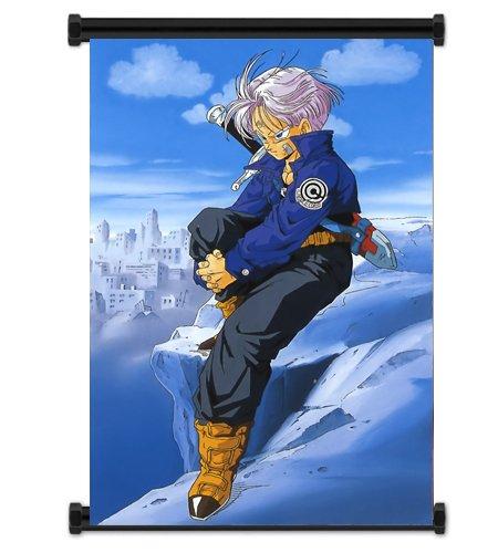 Dragon Ball Z Anime Trunks Fabric Wall Scroll Poster Wp DragonBallZ-26