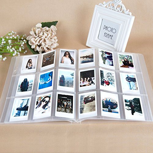 CAIUL Compatible 288 Pockets 3-Inch Mini Photo Album for Fujifilm Instax Mini 7s 8 8+ 9 25 26 50s 70 90 Film, Ticket Holder, Name Card ()
