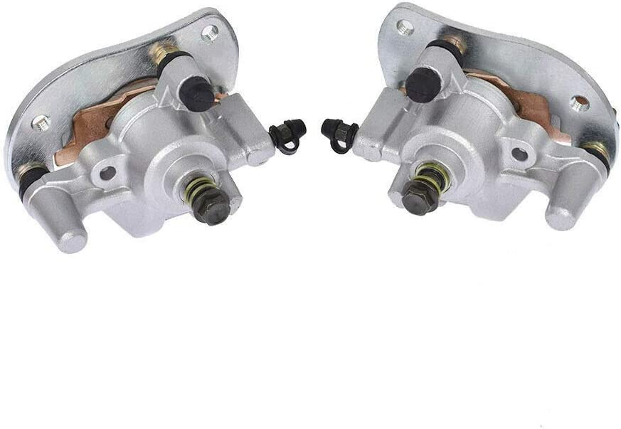 Suitable for Yamaha Grizzly 700 YFM700F//P 2007-18 Front Left Right Brake Calipers w//Pads