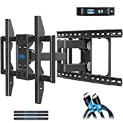 "#LightningDeal Mounting Dream TV Wall Mounts TV Bracket for 42-70 Inch TVs, Premium TV Mount, Full Motion TV Wall Mount with Articulating Arms, Max VESA 600x400mm and 100 LBS, Fits 16"", 18"", 24"" Studs MD2296-24K"
