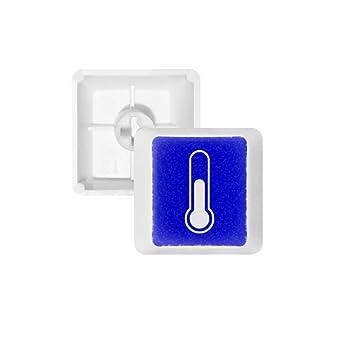DIYthinker Teclas Pbt Temperatura Cuadrado Azul Marca De ...