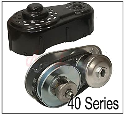 40 Series Go Kart Torque Converter Kit With Belt, Clutch Pulley Driver Driven 8 to 16 HP