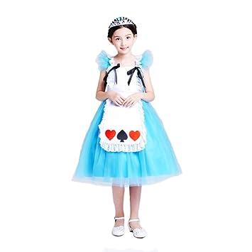 Bebés Alice Disfraz de princesa vestido Cosplay disfraz de ...