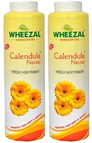 Wheezal Calendula Nector Prickly Heat Powder - 600 g, (Pack Of 2)