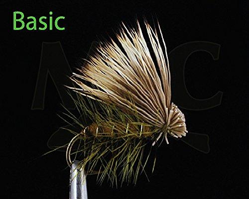 Montana Fly Company Elk Hair Caddis - Olive #18, 1 DOZ ()