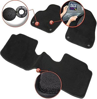 DBS 1765666 Car Floor mat Velours Finish Anti-Slip Custom Made Steering Wheel Left Range Luxe Carpet 1000g//m/² 3 Pieces