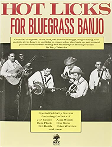 Amazon com: Hot Licks for Bluegrass Banjo (9780825602887): Tony