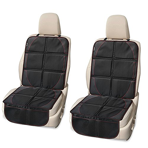 Car Seat Protector 2 Pack, HIPPIH Carseat Seat Protectors for Child Car, Seat Cover with Waterproof...