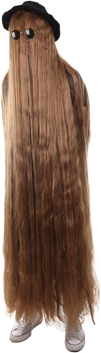 Brown HPO Mens or Womens Dapper Creature Playboy Wig Collection Long or Short Styles