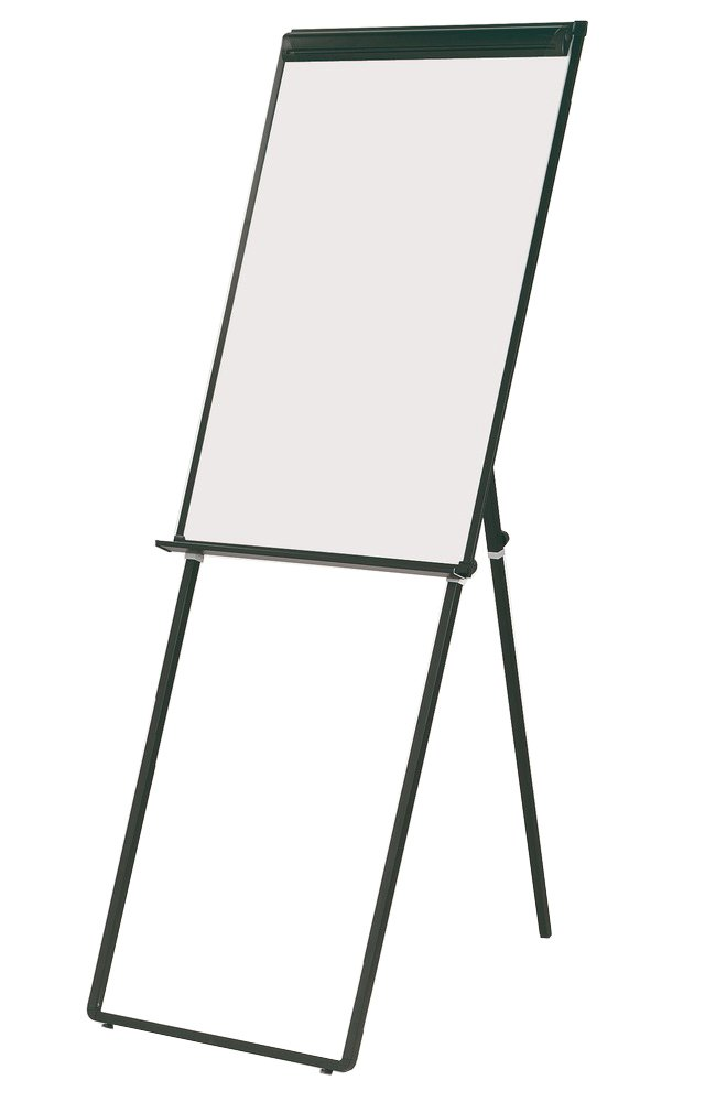 Q Connect Deluxe Magnetic Flipchart Easel