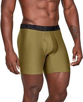 15 cm Under Armour Herren komfortable Unterw/äsche mit enganliegendem Schnitt Tech 3in 2 Pack 2er Pack schnelltrocknende Boxershorts