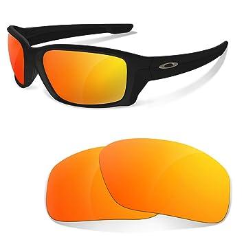 Lentes de Recambio Polarizadas Fire Iridium para Oakley Straightlink | Sunglasses Restorer